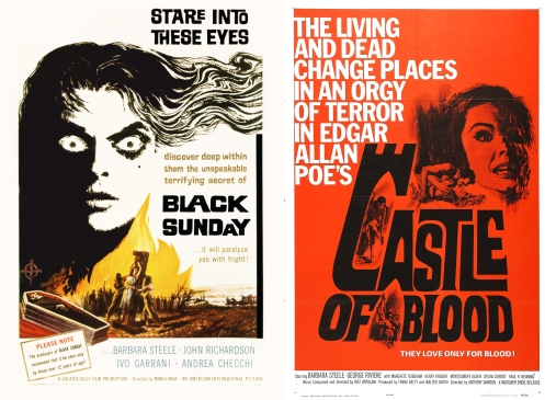 Black Sunday- Castle Of Blood Poster