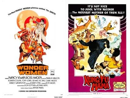 wonder women_kung fu mama