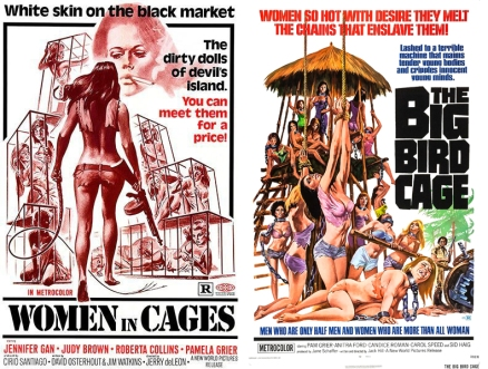 Women In Cages-Big Bird Cage