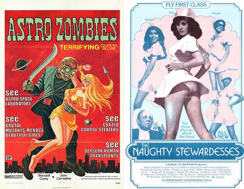 astro Zombies - Stewardesses